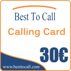 30 € Calling Card