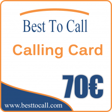 70 € Calling Card