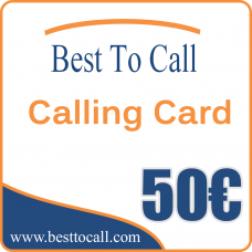 50 € Calling Card