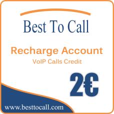 2 € VOIP Calls Credit