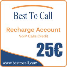 25 € VoIP Calls Credit