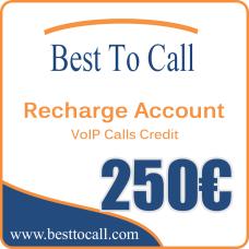 250 € VoIP Calls Credit