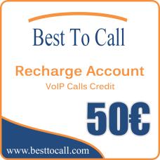 50 € VoIP Calls Credit